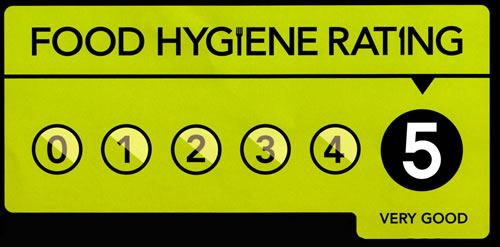 5 Star Hygine Rating
