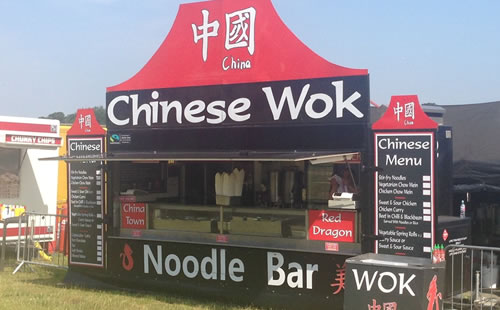 Chinese Trailer Catering Hire