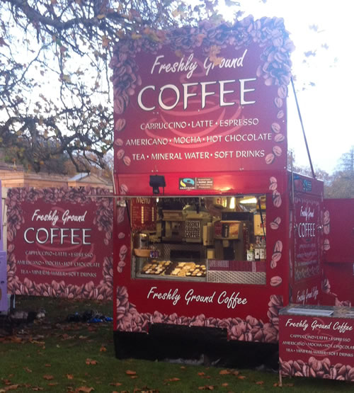 Coffee Trailer Van Catering Hire