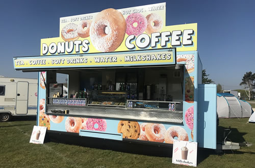 Mobile Doughnut and Cookie Catering Hire