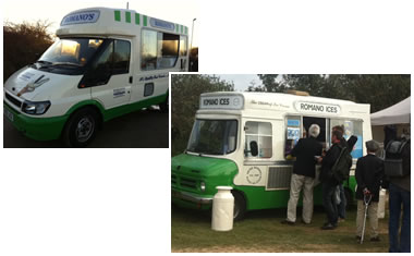 Mobile Ice Cream Van Catering Hire