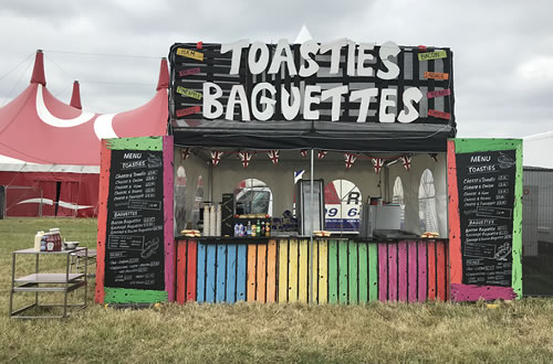 Toastie and Baguettes Van Catering Hire