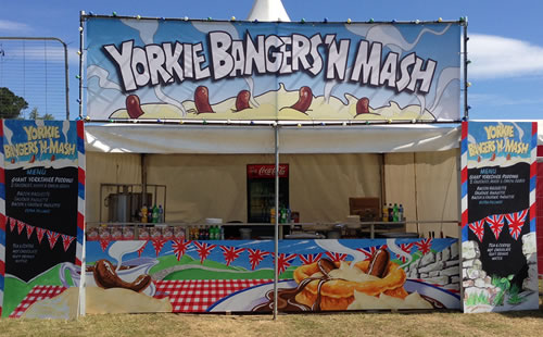Yorkie, Bangers and Mash Trailer Catering Hire